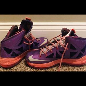 76dbcb63fc1 Shoes - Nike LEBRON X 10 Area 72 Extraterrestrial